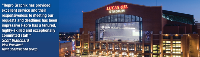 Lucas Oil Stadium. Go Colts!